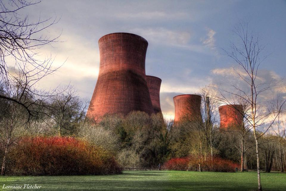 Cooling towers in Shropshire